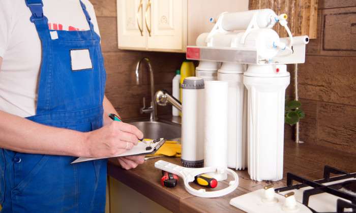 Water filtration system maintenance requirements