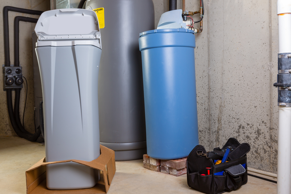 Are water softeners hard to take care of